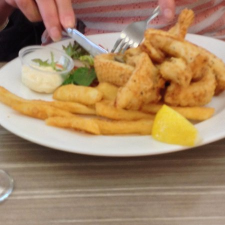Narooma, Australia: Salt and Pepper Squid