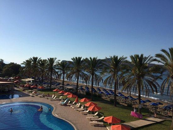 Alexandra Beach Resort: Näkymät altaalle ja rantaan