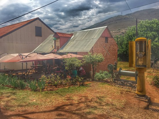 Graskop, South Africa: A bit disappointed in comparison to the last time I was here, but I believe there is an initiati