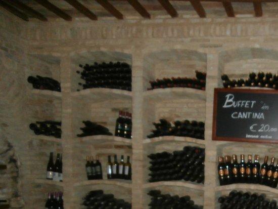 Bucchianico, Italia: Cold Appetizer Tasting Room