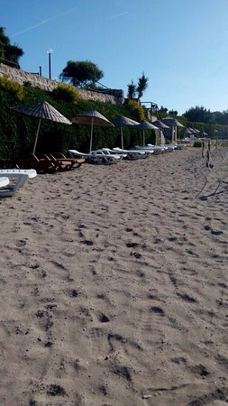 Hotel Babaylon: Mavi bayraklı plaj