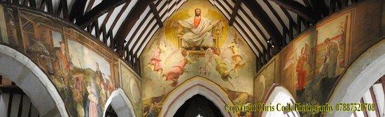 Berwick, UK: A panorama of the murals