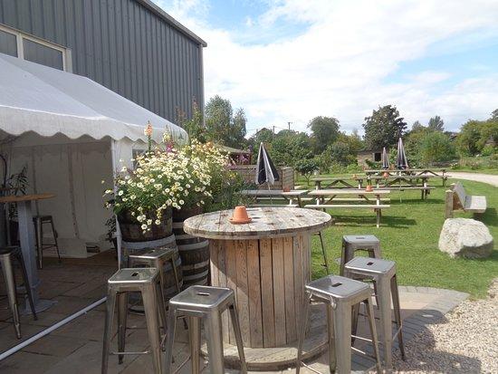 Oswestry, UK: Beer Garden
