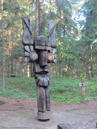Juodkrante, Lithuania: Une surprenante sculpture
