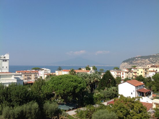 Sant'Agnello, Italy: View from roof terrace