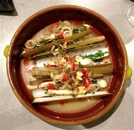 Onich, UK: Razor Clams - So good!