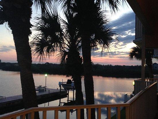 Legacy Vacation Resorts-Indian Shores: Vue depuis la sortie de la chambre