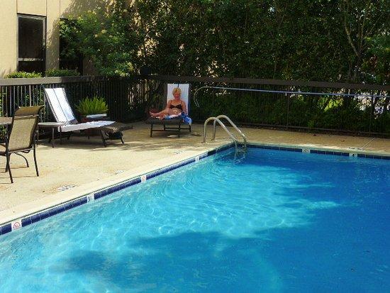 Hampton Inn Metairie: Kleiner Outdoorpool