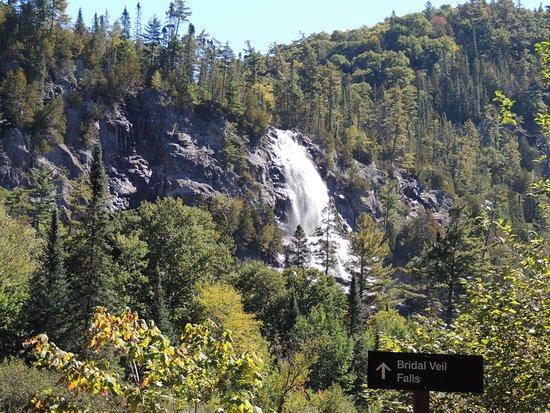 Agawa Canyon Tour Train: Bridal Veil Falls