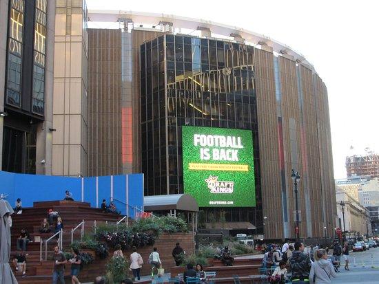 Outside Picture Of Madison Square Garden New York City Tripadvisor