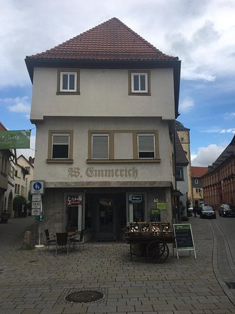 Ochsenfurt, Germany: View from the front