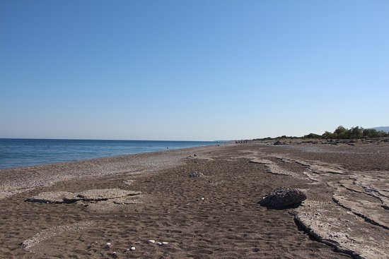 Gennadi, Grécia: пляж