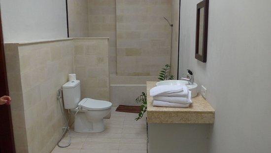Badezimmer - mit Badewanne, Dusche und Tageslicht von der Decke ...