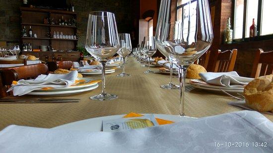 Sidreria La Escuela: Comedor para celebraciones y eventos, 32 personas.