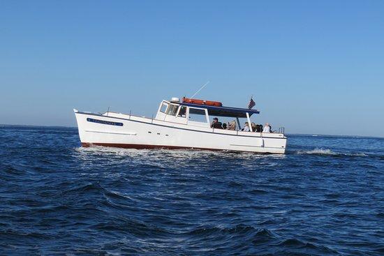 Finestkind Scenic Cruises: un des deux bateaux de la famille