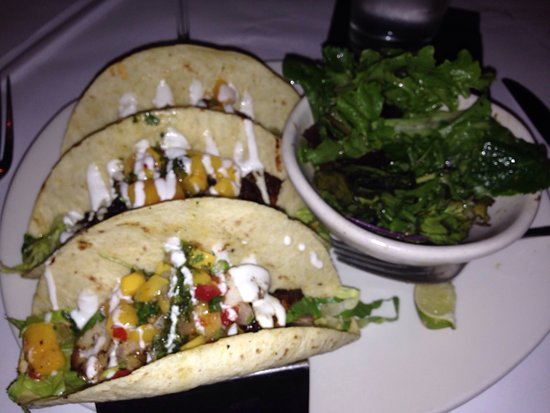 Blackened baja fish tacos picture of bonefish grill for California fish grill locations