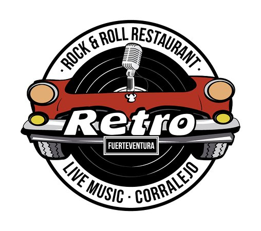 logo retro picture of retro bar amp restaurant corralejo