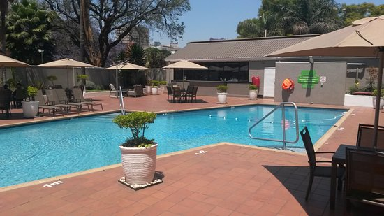 Swimming Pool Crystal Clear Picture Of Holiday Inn Harare Harare Tripadvisor
