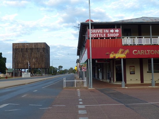 Tree of Knowledge main street Barcaldine