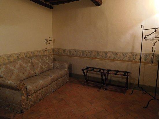 Antica Residenza Cicogna: Paresaggi suite (2nd room)