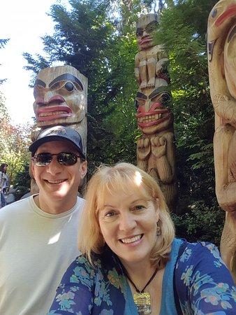 North Vancouver, Kanada: Totems