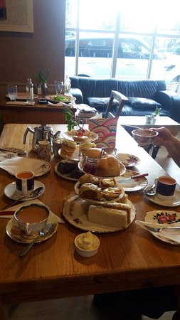 Wetheral, UK: Afternoon Tea at The Posting Pot - Yummy ! Well worth a visit - you won't be disappointed  10/10