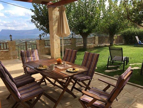 Gramvousa, Grecia: Terrasse, jardin, vue