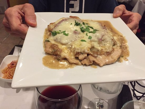 Fairfield, CT: Veal Sorrentino