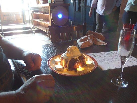 The Tavern Moonpie Birthday Cake
