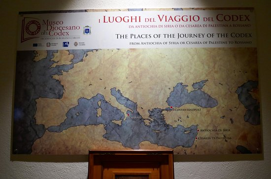 The journey of the Codex Picture of Museo Diocesano e del Codex
