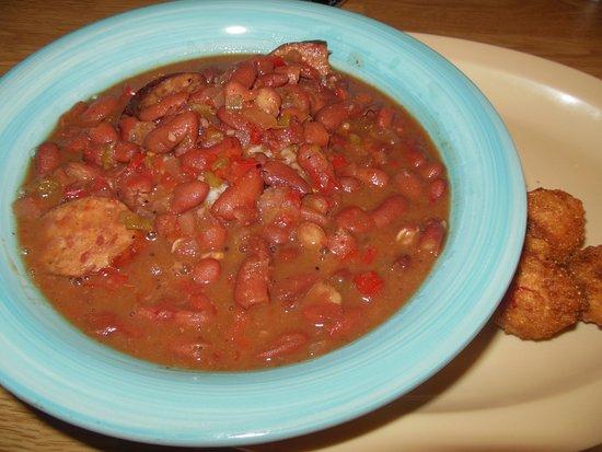 ซิมป์สันวิลล์, เซาท์แคโรไลนา: The Cajun Red Beans n Rice is not on the menu but is offered occassional special.