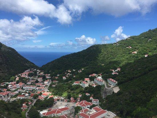 Windwardside, Saba: Views from Saba
