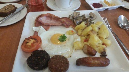 Roscommon, Irlanda: Irish Breakfast at Gleeson's