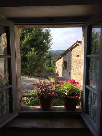 Beautiful view from Elena\'s kitchen area - Picture of Borgo ...