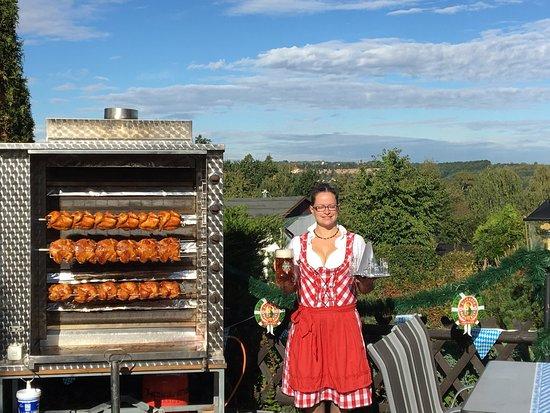 Freital, Germany: Fernblick Restaurant