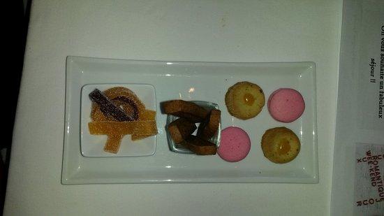 Dury, Francia: Supplément au dessert