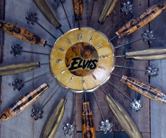 Sunflower Shack Gotta Have An Elvis Clock Picture Of Shack Up Inn Clarksdale Tripadvisor
