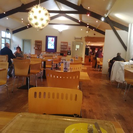 Glencarse, UK: A great Cafe within huge garden centre