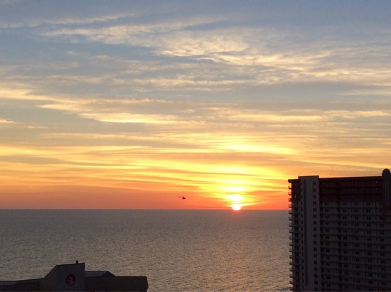Laketown Wharf Resort: We love the October / Fall sunsets. These pictures were taken from the balcony of Unit 1806 at L