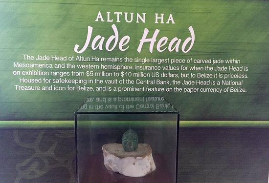 Belize District, Belize: Jade em Altun Ha