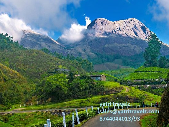 Foldereid, Νορβηγία: Munnar…sweet aroma of tea  Head to the tranquil hill station of Munnar. Away from the hustle and