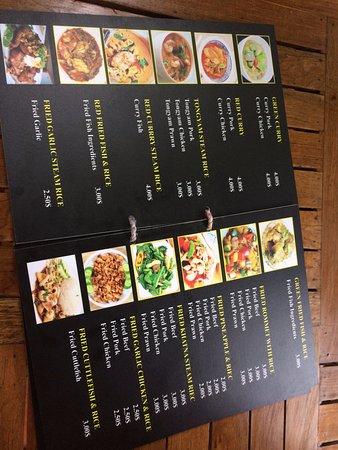 sinn sisamouth cafe menu