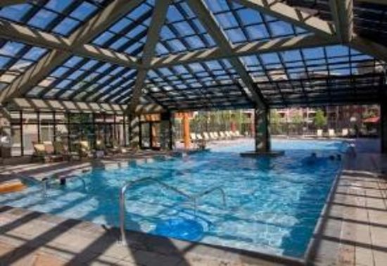 Westgate\'s indoor-outdoor pool! - Picture of Westgate Park City ...