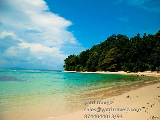 Foldereid, Νορβηγία: Havelock Island…silver sands and turquoise waters  A perfect place for loves struck couples, is