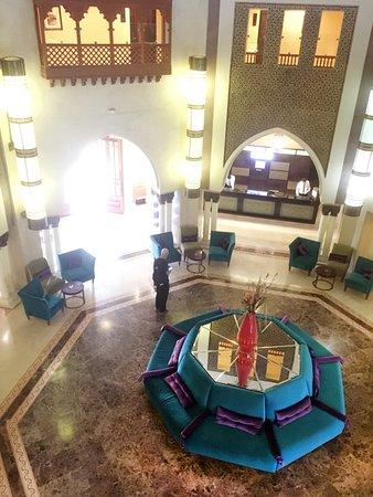 Palm Plaza Marrakech Hotel & Spa: Die Rezeption.