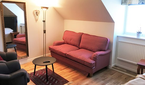 Lund, Szwecja: Double Room Superior Sofabed