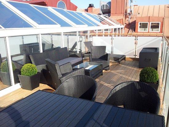 Lund, Svezia: Roof terrace