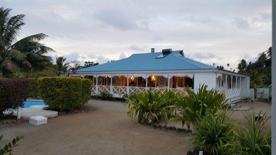 Uturoa, Polinesia Prancis: Belle soirée