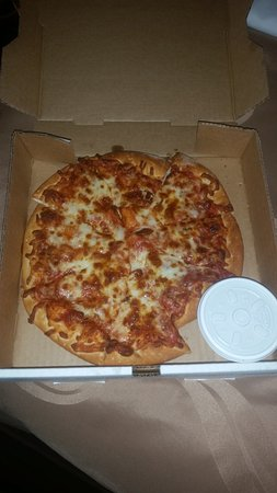 Turtlelini's Pizza and Pasta: Pizza - Not So Great