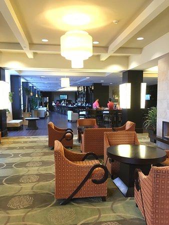 Hilton Columbus At Easton Lobby Of Hotel Ohio